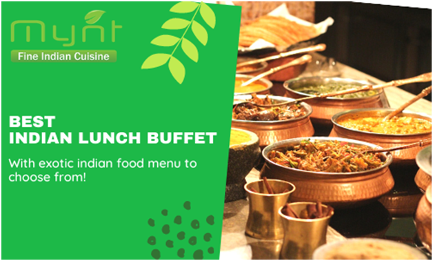 Traditional Indian cuisine amidst winter part theme parks
